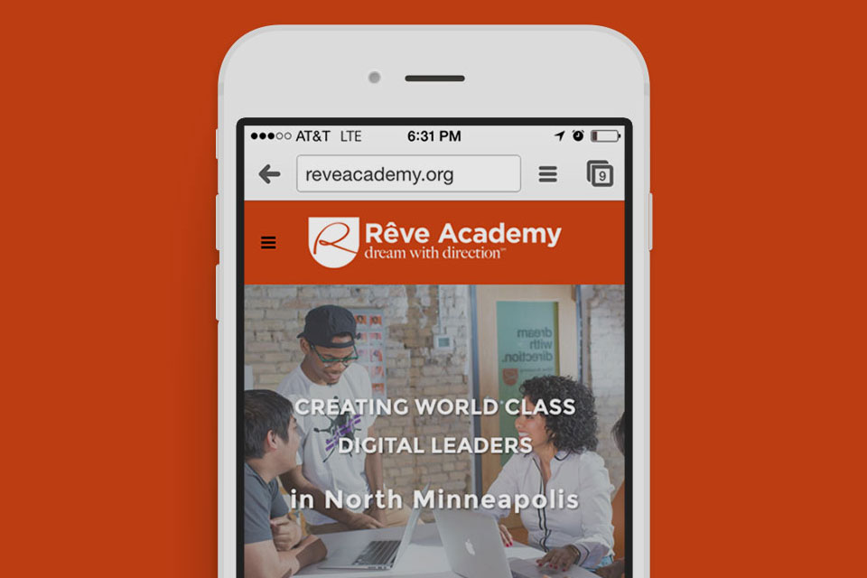 Rêve Academy Website