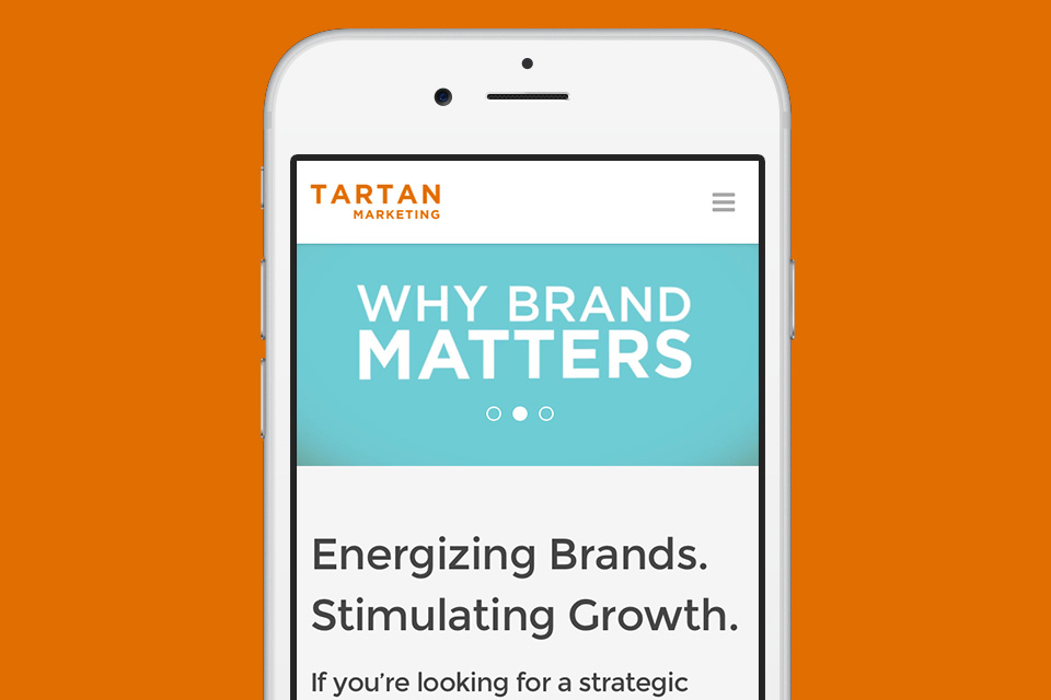 Tartan Marketing Website